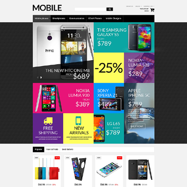 Mobile Prestashop Themes 51309