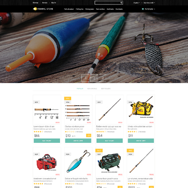 Fishing Prestashop Themes 51766
