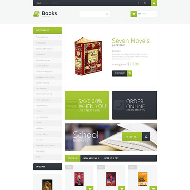 Books Prestashop Themes 51906