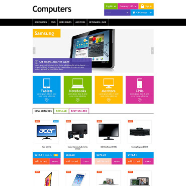Computers Prestashop Themes -