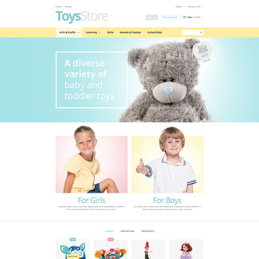 Toy Prestashop Themes 52844