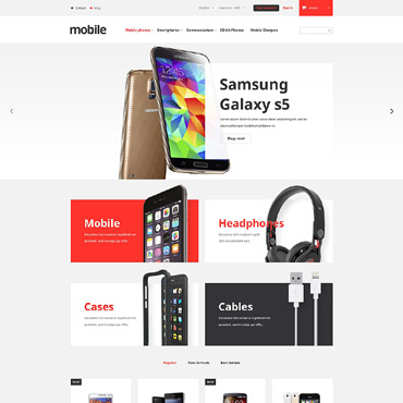 Mobile Prestashop Themes 52943
