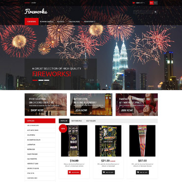 Fire Prestashop Themes 52991