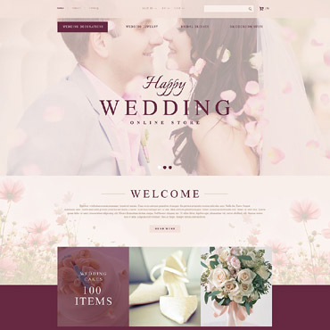 Wedding Prestashop Themes 53721