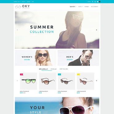 Oky Prestashop Themes 53803