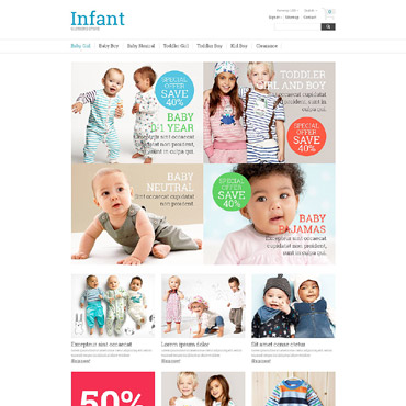 Infant Prestashop Themes 53853
