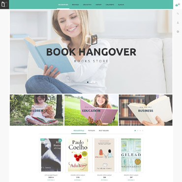 Books Prestashop Themes 54824
