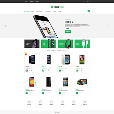 Mobile Prestashop Themes 54835