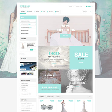 Wedding Prestashop Themes 55061