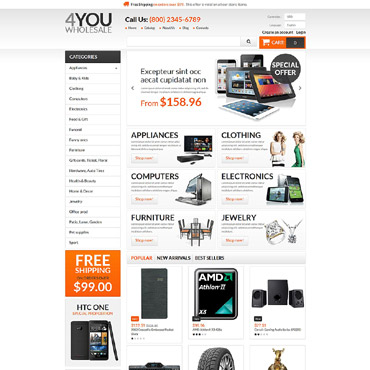 Whole Prestashop Themes 55221