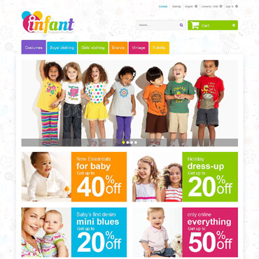 Infant Prestashop Themes 55246