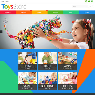 Toy Prestashop Themes 55581