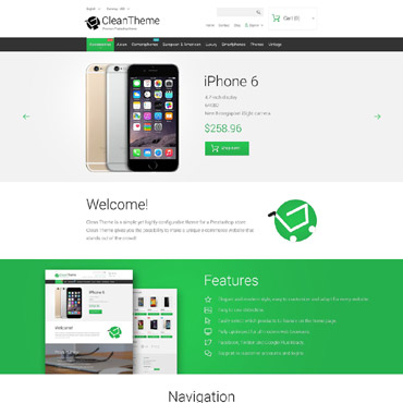 Iphone6 Prestashop Themes 55602
