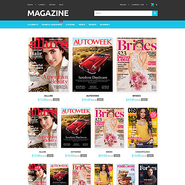 Magazines Prestashop Themes 55692