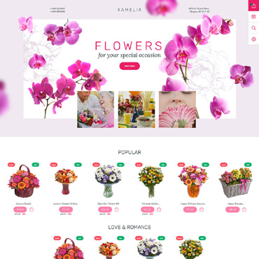 Flower Prestashop Themes 57810