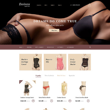 Easiness Prestashop Themes 58122