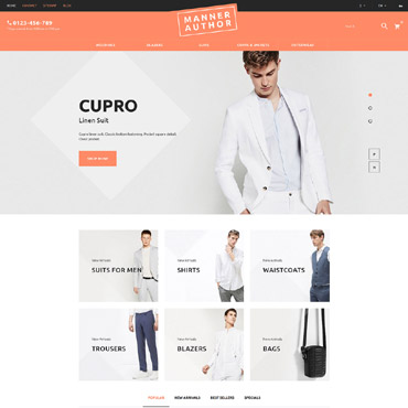 Maner Prestashop Themes 60019