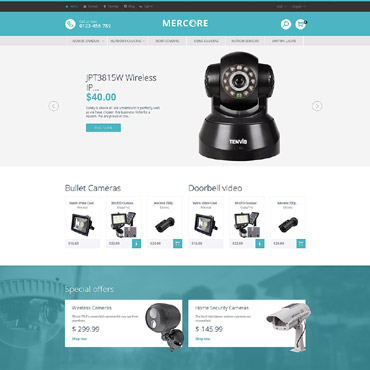Theme Prestashop Mercore Securité 61278