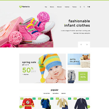 Infantello Prestashop Themes 61409