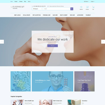 Pharmaso Prestashop Themes 62336