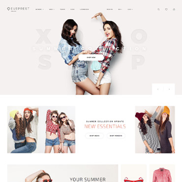 Theme Prestashop Eveprest Mode 62343