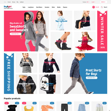 Boy Prestashop Themes 62378