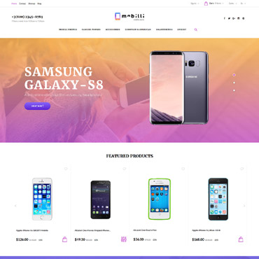 Mobile Prestashop Themes 63335
