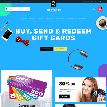 Giftterrs Prestashop Themes 63340