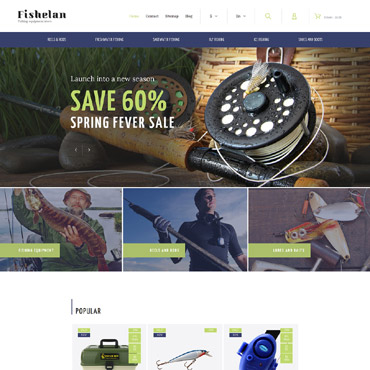 Fishelan Prestashop Themes 63358