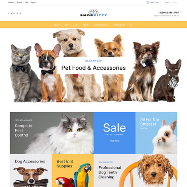Shopkitty Prestashop Themes 64107