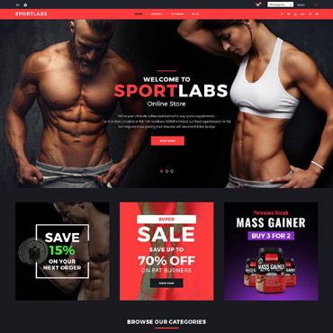 Sportlabs Prestashop Themes 64478