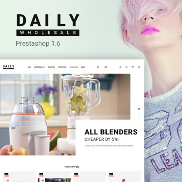 Daily Prestashop Themes 65944