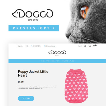 Dog Prestashop Themes 67148