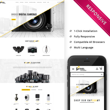 Photography Prestashop Themes 68548