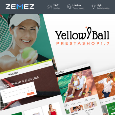 Yellowball Prestashop Themes 70123