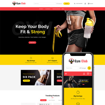 Gym Prestashop Themes 70290