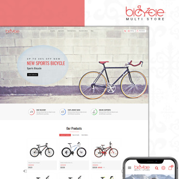 Bicycle Prestashop Themes 71191