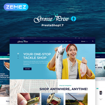Grosse Prestashop Themes 73967