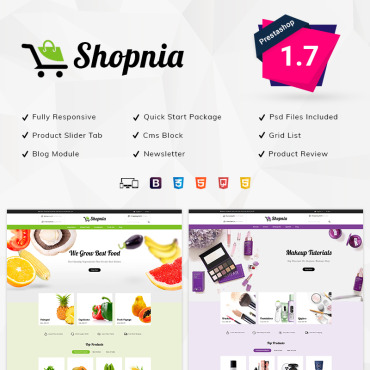 Cereals Prestashop Themes 79038