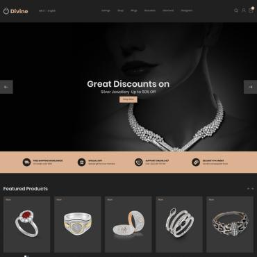 Jewelry Prestashop Themes 79271