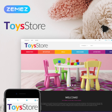 Toy Prestashop Themes 79730