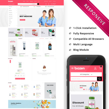Corporate Prestashop Themes 80215