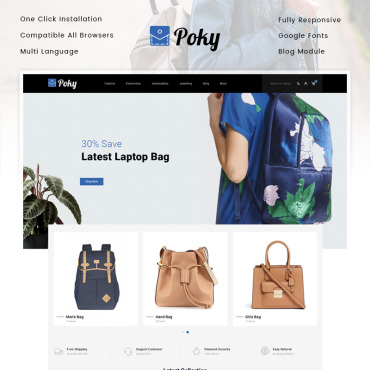 Fashion Prestashop Themes 82791