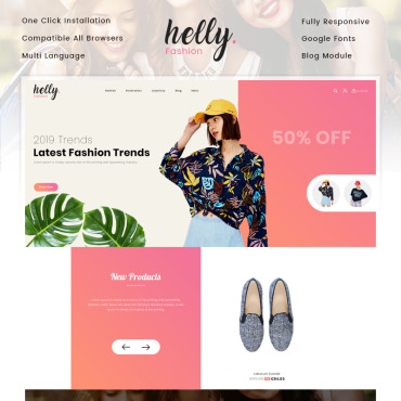 Fashion Prestashop Themes 82809