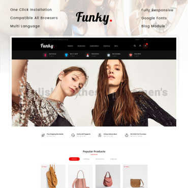 Fashion Prestashop Themes 82912