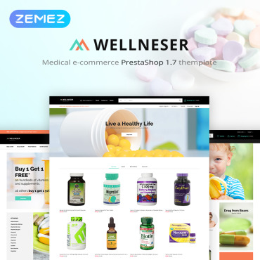 Pills Prestashop Themes 82980