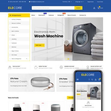Electronics Prestashop Themes 83670