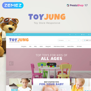 Theme Prestashop Kids Bébé 83884