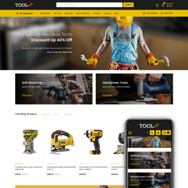 Tools Prestashop Themes 83889