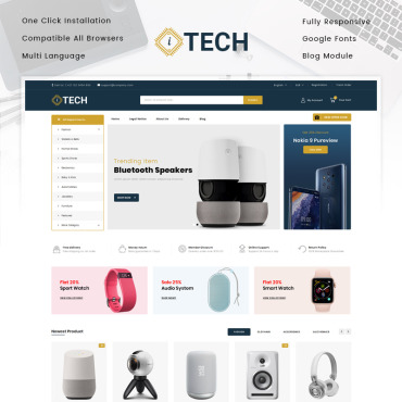 Electronics Prestashop Themes 83892